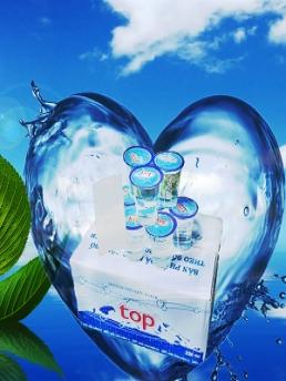 Nước suối ly Top 230ml - thùng 48 ly