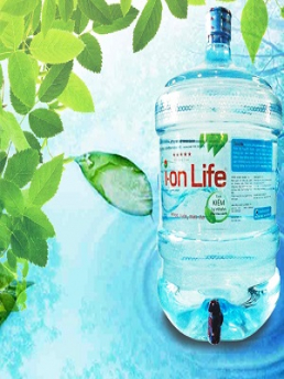 Nước uống cao cấp Ion Life 19L