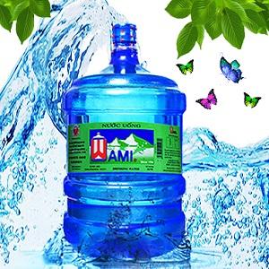 Nước tinh khiết Wami bình 20L